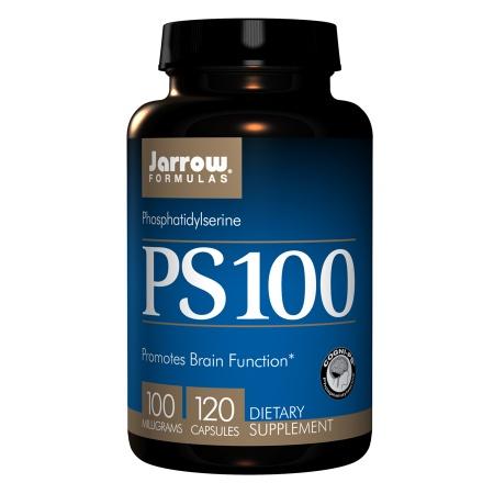 Jarrow Formulas PS-100, Phosphatidylserine, Capsules - 120 ea