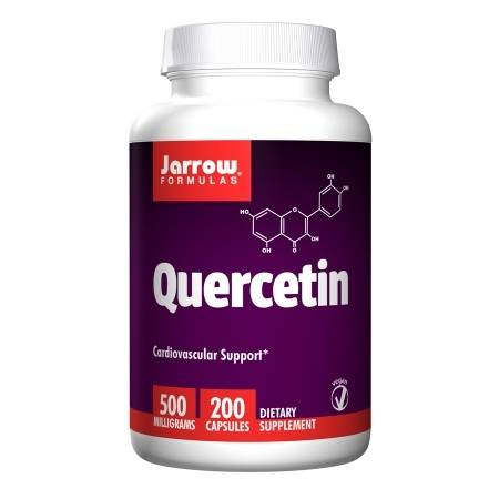 Jarrow Formulas Quercetin 500 mg Dietary Supplement Capsules - 200 ea