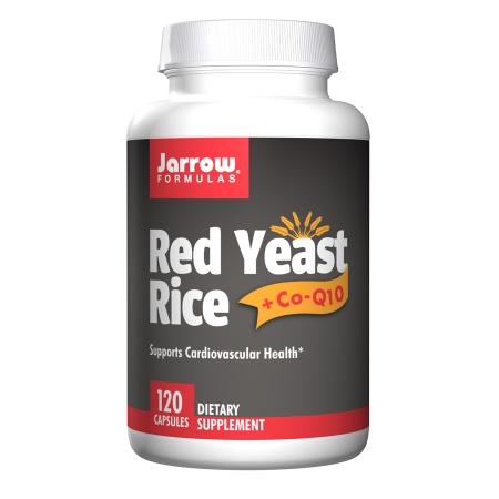Jarrow Formulas Red Yeast Rice + Co-Q10, Capsules - 120 ea