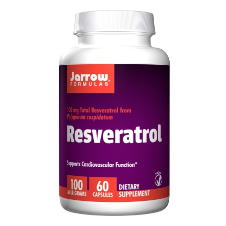 Jarrow Formulas Resveratrol 100mg, Capsules - 60 ea