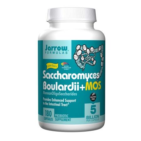 Jarrow Formulas Saccharomyces Boulardii + MOS, Capsules - 180 ea