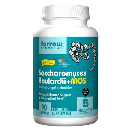 Jarrow Formulas Saccharomyces Boulardii + MOS, Capsules - 90 ea