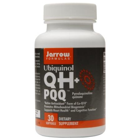Jarrow Formulas Ubiquinol QH+PQQ, Softgels - 30 ea