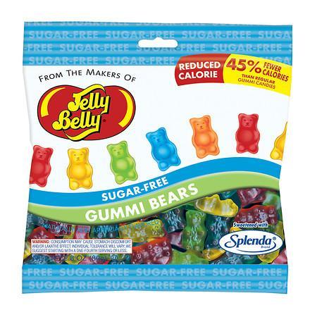 Jelly Belly Sugar Free Gummi Bears Bag - 2.8 oz.