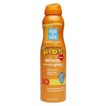 Kiss My Face Continuous Spray Sunscreen Kids Defense SPF 50 - 6 oz.