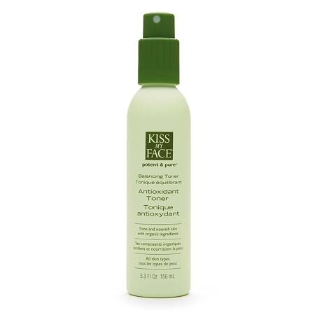 Kiss My Face Potent and Pure Antioxidant Toner Spray - 5.3 oz.
