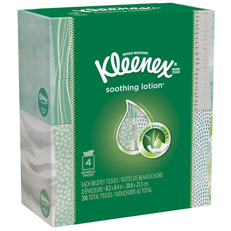 Kleenex Facial Tissue With Lotion - 50 sh