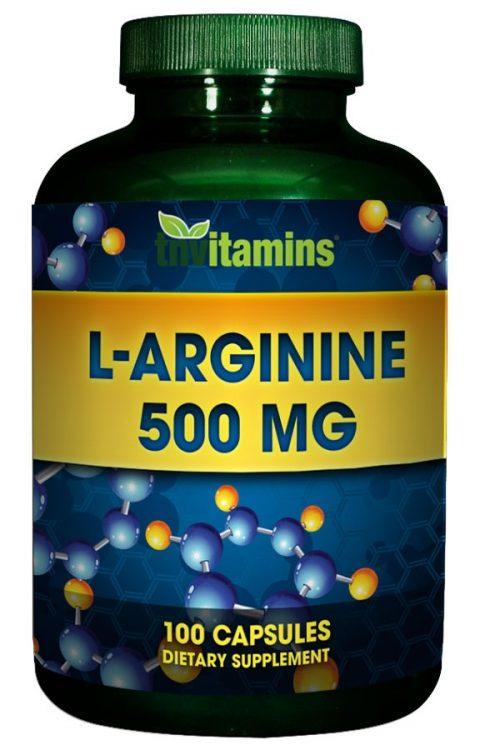 L Arginine 500 Mg