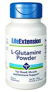 L-Glutamine Powder, Net Wt. 100 g (0.22 lb. or 3.53 oz.)