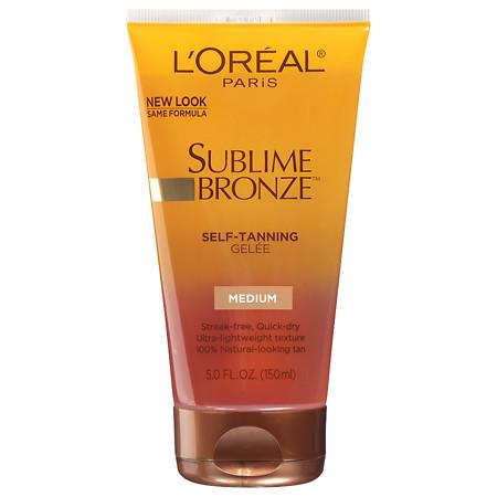 L'Oreal Paris Sublime Bronze Self-Tanning Gelee - 5 fl oz