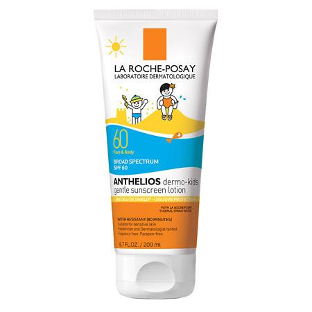 La Roche-Posay Anthelios Kids Gentle Face and Body Sunscreen Lotion SPF 60 - 6.7 oz.