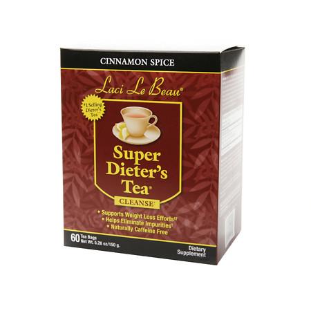 Laci Le Beau Super Dieter's Tea Bags Cinnamon Spice - 60 ea