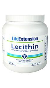 Lecithin, Net Wt. 454 g (1 lb. or 16 oz.)