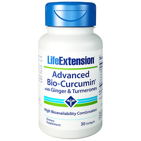 Life Extension Advanced Bio-Curcumin, Softgels - 30 ea