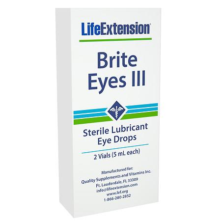 Life Extension Brite Eyes III Vials - 0.17 oz.