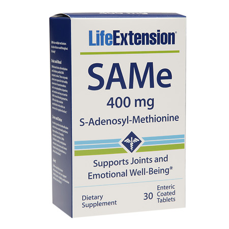 Life Extension SAMe 400mg - 30 ea