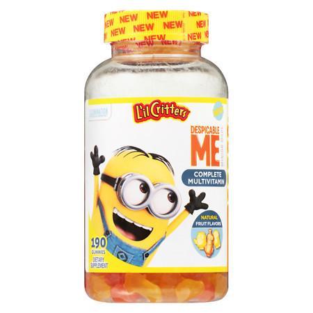 L'il Critters Despicable Me Complete Multivitamins Gummies Strawberry-Banana - 190 ea