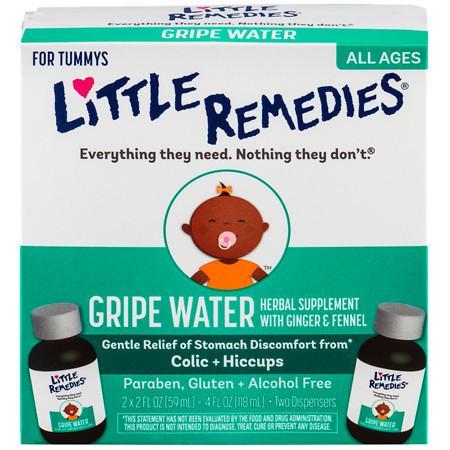 Little Remedies For Tummys Gripe Water - 2 fl oz