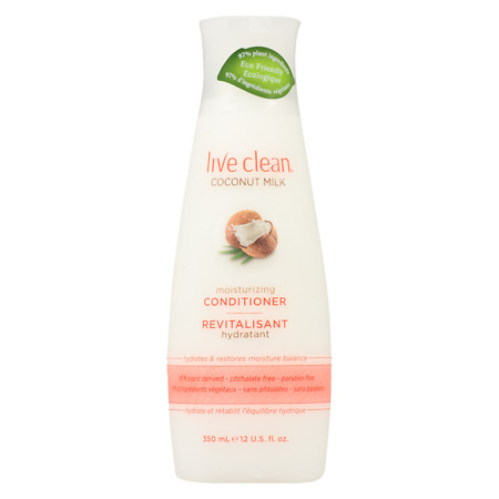 Live Clean Moisturizing Conditioner Coconut Milk - 12 oz.