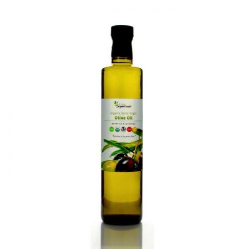 Live Superfoods Extra Virgin Olive Oil, Organic, 16.9 fl oz