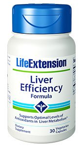 Liver Efficiency Formula, 30 vegetarian capsules