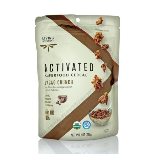 Living Intentions Cacao Crunch Superfood Cereal, 9 oz
