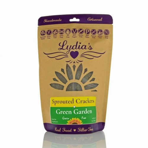 Lydia's Kind Foods Green Garden Crackers, 5 oz