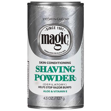 Magic Shave Shaving Powder Depilatory Skin Conditioning - 4.5 oz.