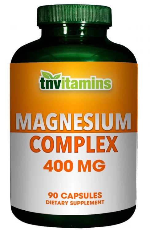 Magnesium Complex From Oxide, Aspartate and Citrate 400 Mg