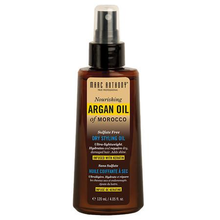 Marc Anthony True Professional Nourishing Argan Oil of Morocco Dry Styling Oil - 4.05 fl oz