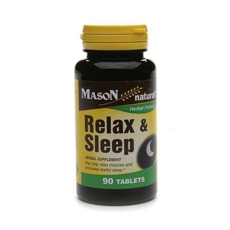 Mason Natural Relax & Sleep, Tablets - 90 ea