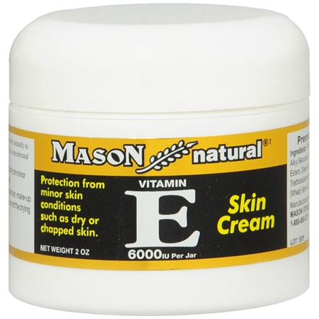 Mason Natural Vitamin E Skin Cream - 2 oz.