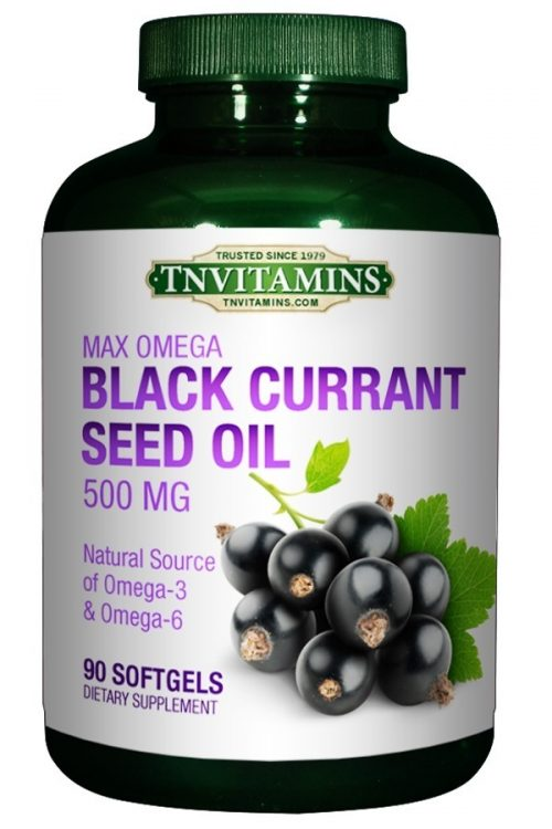 Max Omega Black Currant Seed Oil 500 Mg