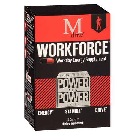 Mdrive Workforce Energy Supplement - 45 ea