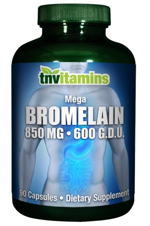 Mega Bromelain 850 Mg