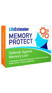 Memory Protect, 12 Colostrinin-Lithium (C-Li) Capsules, 24 Lithium (Li) Capsules