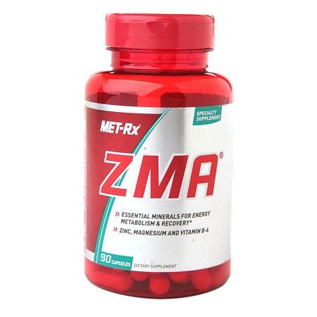 Met-Rx ZMA, Capsules - 90 ea
