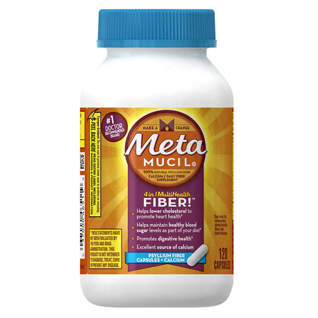 Metamucil Calcium Dietary Fiber Supplement - 120 ea
