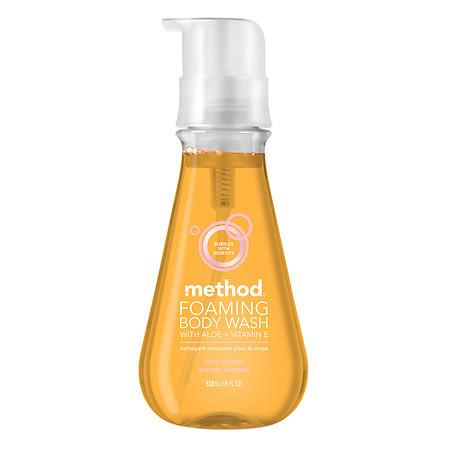 Method Foaming Body Wash Ruby Orange - 18 oz.