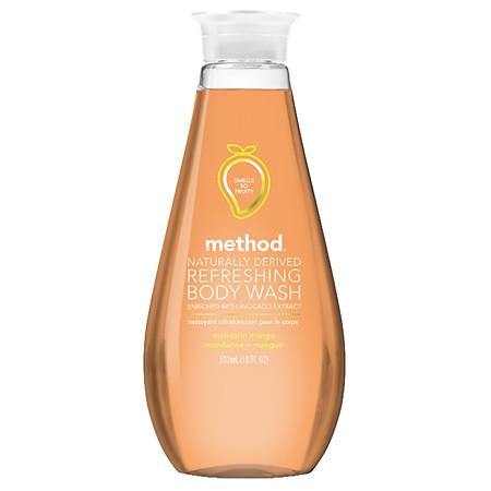 Method Refreshing Gel Body Wash Mandarin Mango - 18 oz.