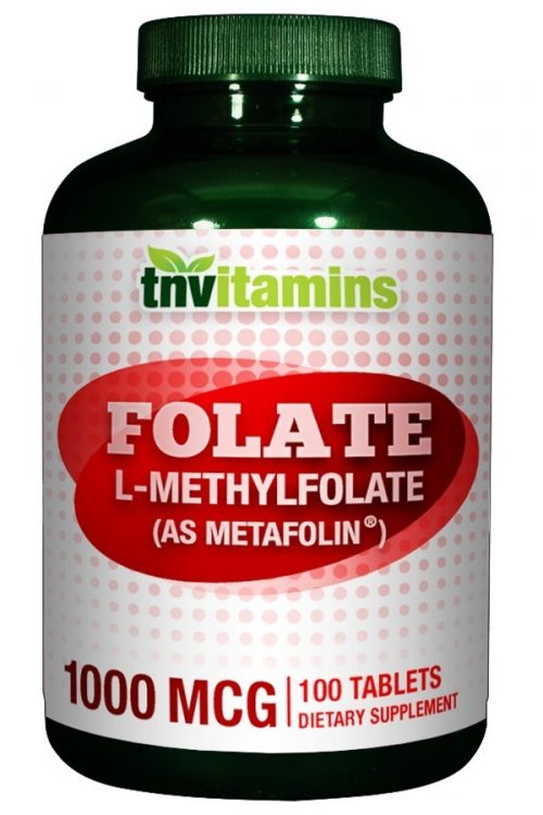 Methylfolate 1000 Mcg Metafolin