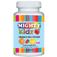 MightyKidz Chewable Multivitamins with Phytonutrients for Kids - 1 Month Supply