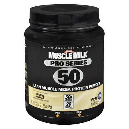 Muscle Milk Pro Series Mega Protein Powder Vanilla - 32 oz.