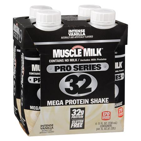 Muscle Milk Pro Series Mega Protein Shake Vanilla - 11 oz.