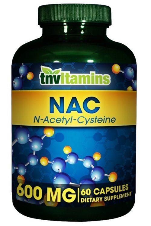 N - Acetyl Cysteine (NAC) 600 Mg