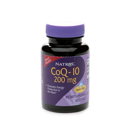 Natrol CoQ-10 200 mg Dietary Supplement Softgels - 45 ea