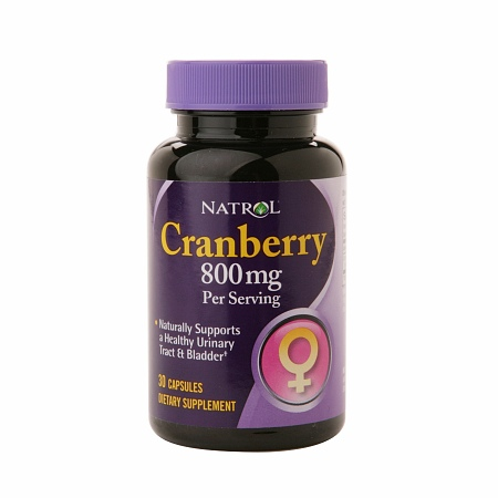 Natrol Cranberry 800 mg Dietary Supplement Capsules - 30 ea
