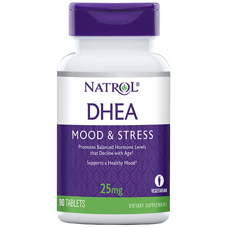 Natrol DHEA 25 mg Dietary Supplement Tablets - 90 ea
