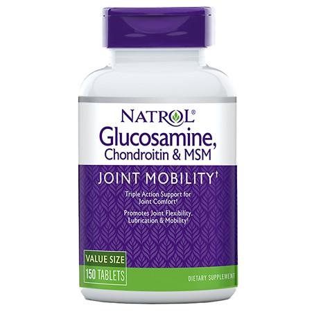 Natrol Glucosamine Chondroitin MSM - 150 ea