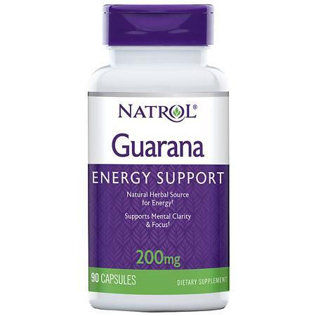 Natrol Guarana 200 mg - 90 ea